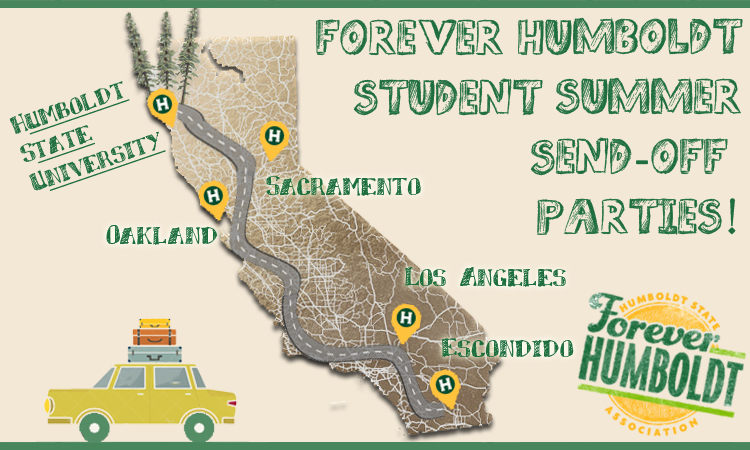 Humboldt State Map East Bay Student Send Off Party 2015   Humboldt State University Humboldt State Map