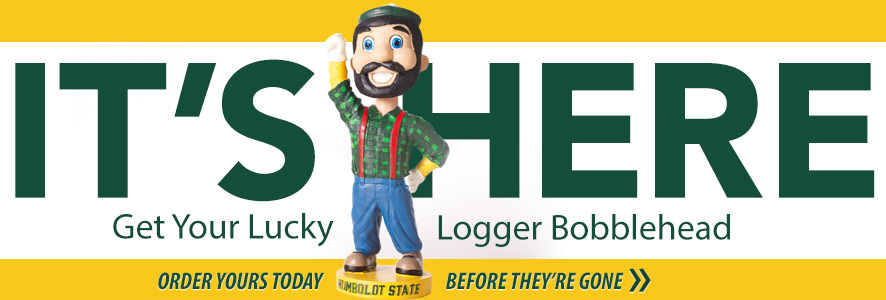 Lucky Logger Bobbleheads are here